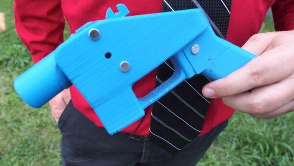 Arma hecha con una impresora 3D - Sputnik International
