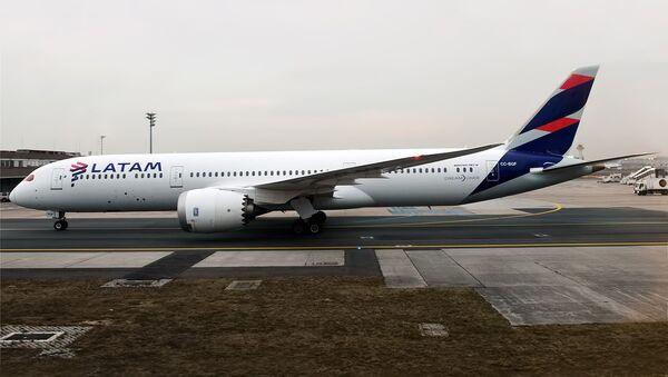 LATAM Airlines Chile, CC-BGF, Boeing 787-9 Dreamliner, February 11, 2017. - Sputnik International
