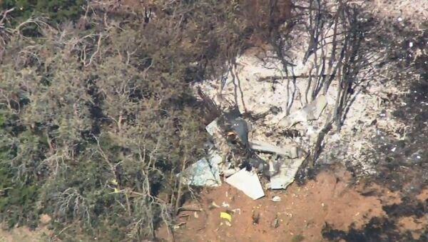 A US military plane crashed in Oklahoma August 17, 2018 - Sputnik International
