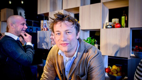 British Chef Jamie Oliver - Sputnik International