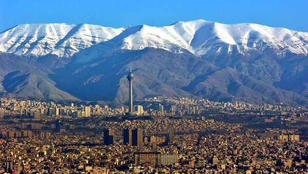 Aerial View of Tehran - Sputnik International