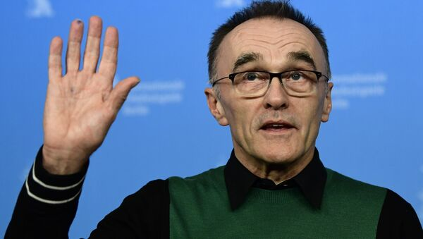 British director Danny Boyle poses for photographers during a photocall for the film T2 Trainspotting out of competition at the 67th Berlinale film festival in Berlin on February 10, 2017 - Sputnik International