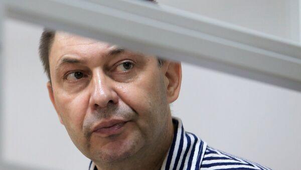 RIA Novosti Ukraine head Kirill Vyshinsky detained in Ukraine - Sputnik International
