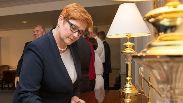 Australia's Minister for Defense Marise Payne at the Pentagon in Washington, D.C., Sept. 20, 2017. - Sputnik International