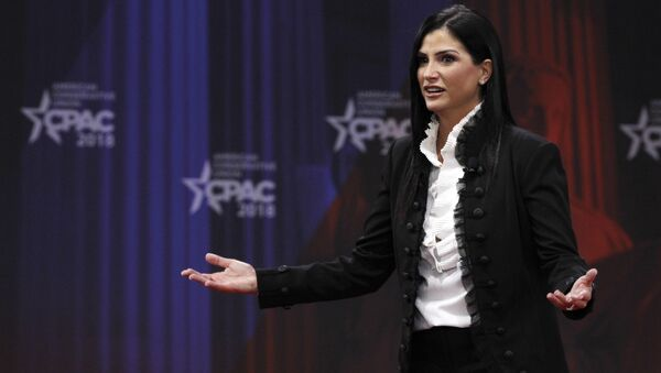 Dana Loesch, spokesperson for the National Rifle Association, speaks at the Conservative Political Action Conference (CPAC), at National Harbor, Md., Thursday, Feb. 22, 2018 - Sputnik International