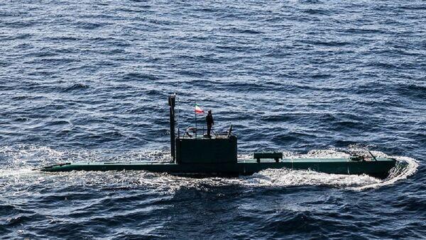 Ghadir submarine - Sputnik International