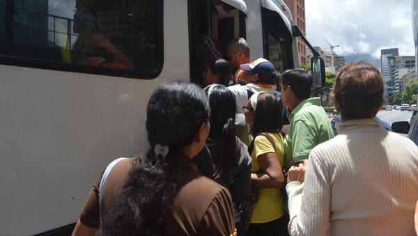 Apagón eléctrico provocó suspensión del sistema de transporte subterráneo en Caracas, y ocasionó caos en la ciudad - Sputnik International
