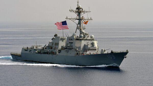 The guided-missile destroyer USS Jason Dunham - Sputnik International