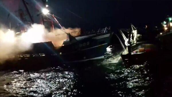 Boats of fishermen - Sputnik International