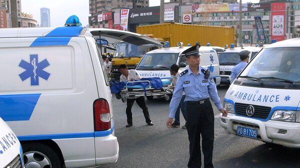 Chinese ambulance, archive photo - Sputnik International