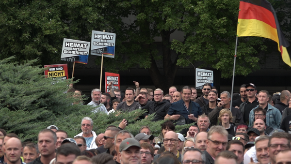 Rally in Chemnitz, Germany - Sputnik International