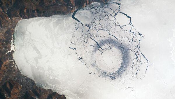 A view of Lake Baikal from space. - Sputnik International