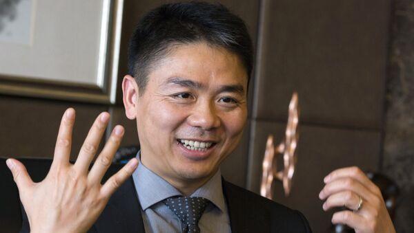 Richard Liu, founder of JD.com - Sputnik International