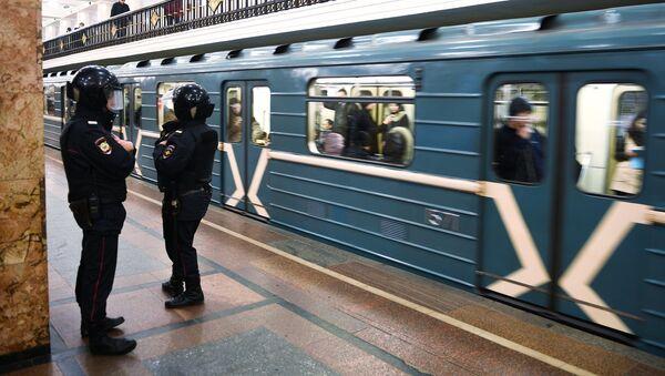 Moscow Metro, Police - Sputnik International