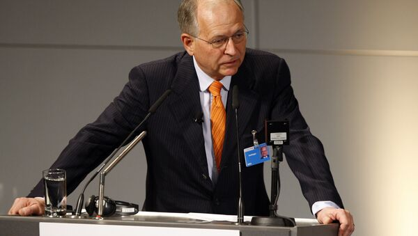 Wolfgang Ischinger, Chairmann of the Munich Security Conference, speaks during the International Conference on Security Policy - Sputnik International