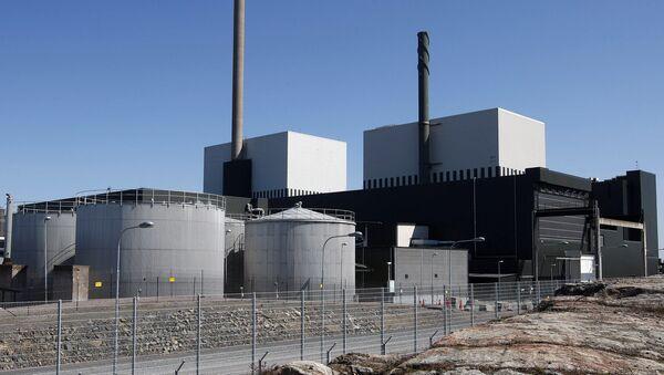 An exterior view of the Oskarshamn nuclear power plant in Oskarshamn, southeastern Sweden (File) - Sputnik International