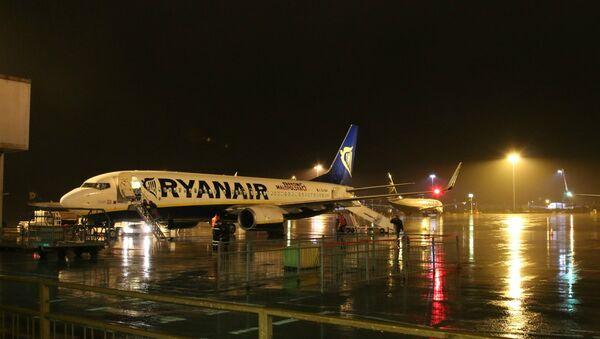 Ryanair airplane at Stansted airport, London - Sputnik International