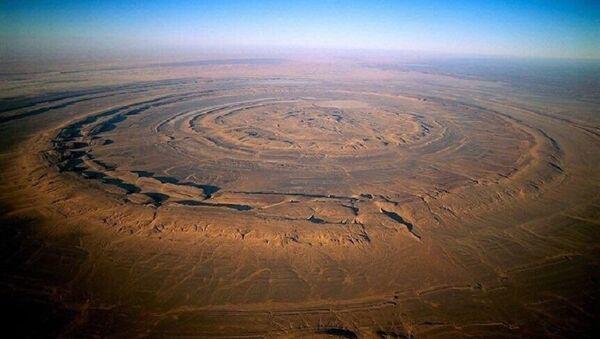 The Eye of Sahara - Sputnik International