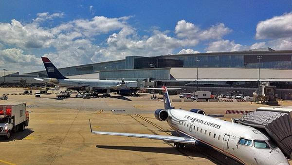 Planes stationed at Philadelphia International Airport - Sputnik International