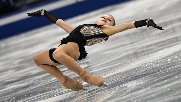 Alexandra Trusova (Russia) during women's short program at the ISU Grand Prix of Figure Skating Final in Nagoya, Japan - Sputnik International