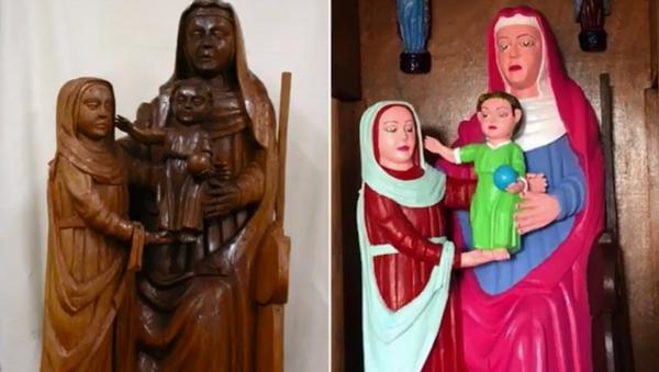 Another chapel in Spain sees botched restoration of centuries-old sculptures - Sputnik International