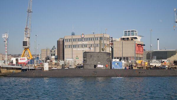 The Royal Navy submarine HMS Talent (S92) - Sputnik International