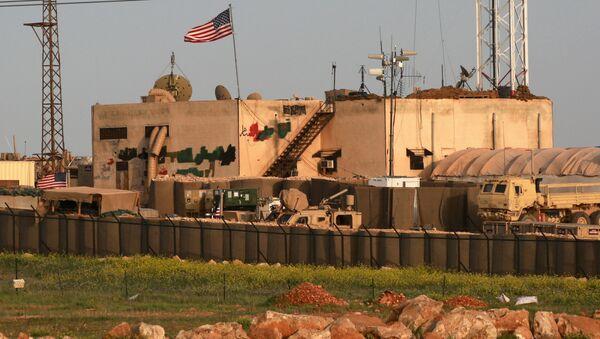 US military base in the al-Asaliyah village, Syria - Sputnik International