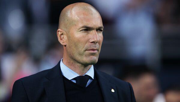 Former Head Coach of FC Real Madrid Zinedine Zidane - Sputnik International