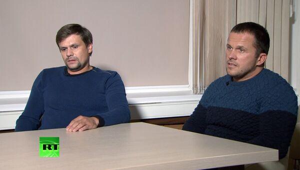 Интервью А. Петрова и Р. Боширова телеканалу RT и агентству Sputnik - Sputnik International