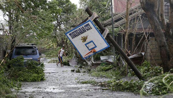 Mangkhut typhoon - Sputnik International