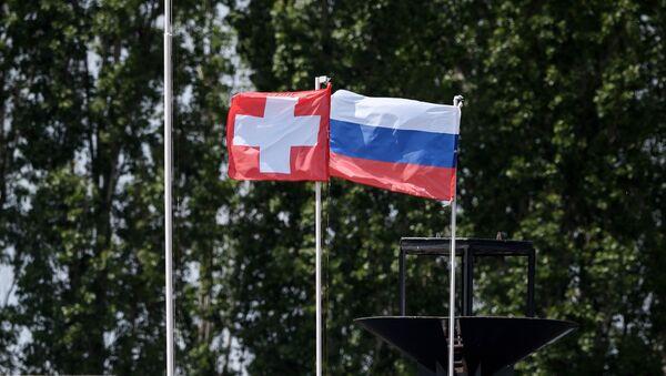 The Swiss and Russian flags (File) - Sputnik International