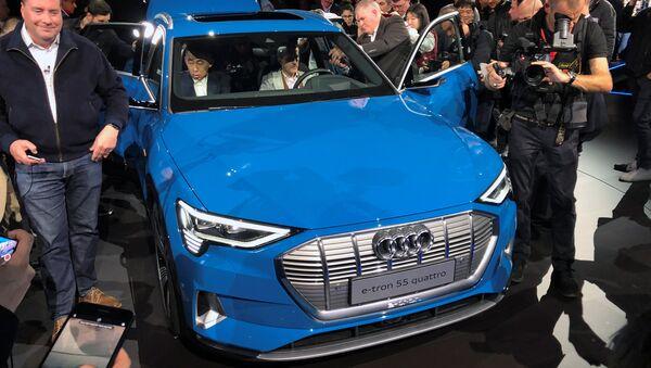 Audi E-tron Sport Utility Vehicle - Sputnik International