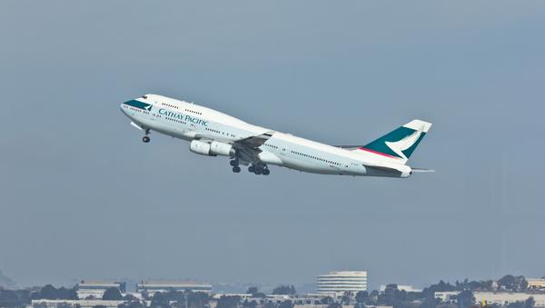 Cathay Pacific - B-HUF - Boeing 747-400 - San Francisco International Airport - Sputnik International