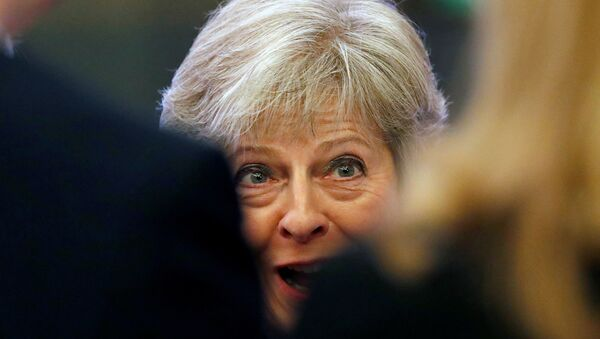 Britain's Prime Minister Theresa May attends the National Housing Summit in London, September 19, 2018 - Sputnik International