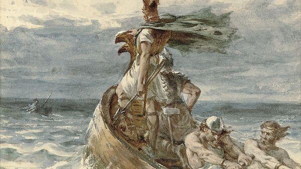 Vikings Heading for Land - Sputnik International