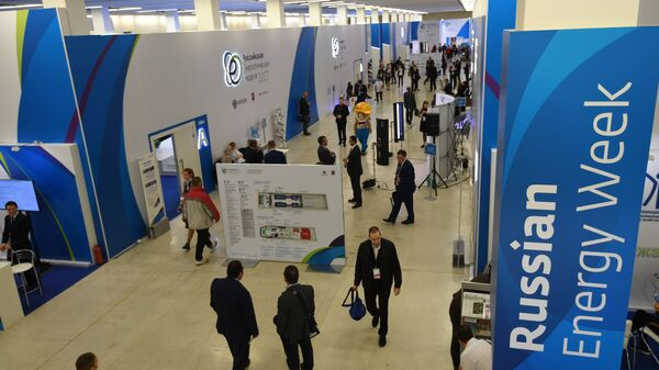 At the Russian Energy Week International Forum in Moscow - Sputnik International