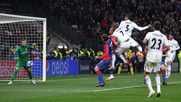 Soccer. Champions League. A match of CSKA - Real Madrid - Sputnik International