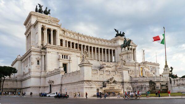 Italian Parliament Building - Sputnik International