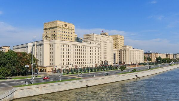 Building of Russian Ministry of Defence at Frunzenskaya Embankment. Moscow, Russia. - Sputnik International