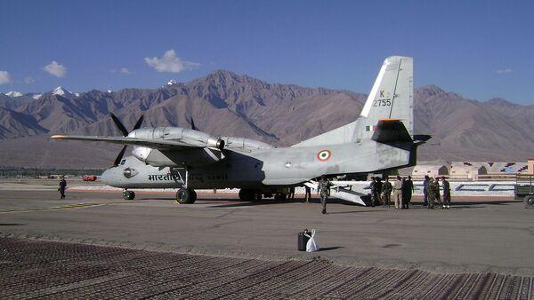 Antonov An-32B of the Indian Air Force at Leh Airbase - Sputnik International