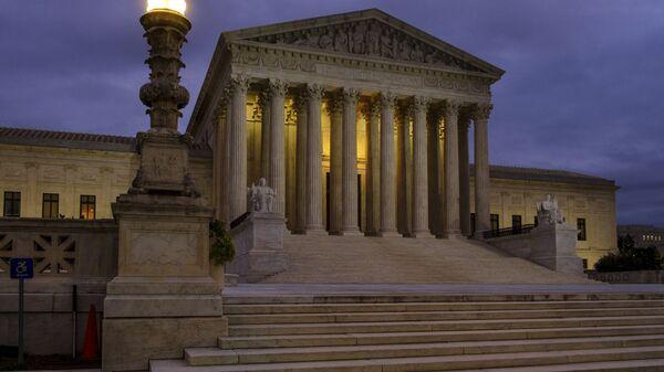 The US Supreme Court building - Sputnik International