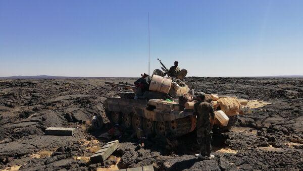 Syrian Army in As-Suwayda. File photo  - Sputnik International