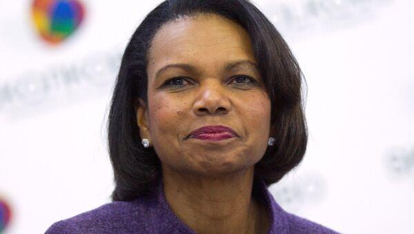 Former Secretary of State Condoleezza Rice. - Sputnik International