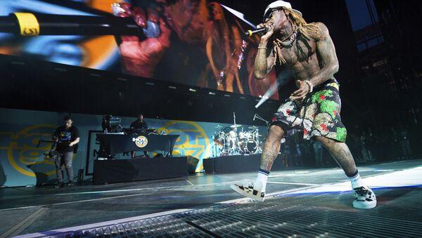 Rapper Lil Wayne performs at HOT 97 Summer Jam 2018 at MetLife Stadium on Sunday, June 10, 2018, in East Rutherford, New Jersey - Sputnik International