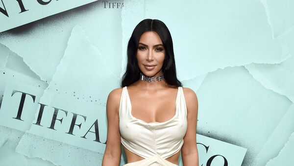 Kim Kardashian West attends the Tiffany & Co. 2018 Blue Book Collection: The Four Seasons of Tiffany celebration at Studio 525 on Tuesday, Oct. 9, 2018, in New York. - Sputnik International