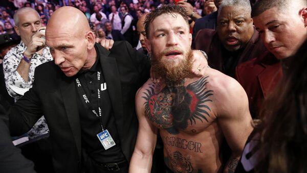Conor McGregor after bout with Khabib Nurmagomedov - Sputnik International