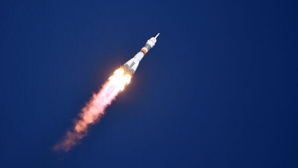 Soyuz MS-10 Launch to ISS from Baikonur Cosmodrome - Sputnik International