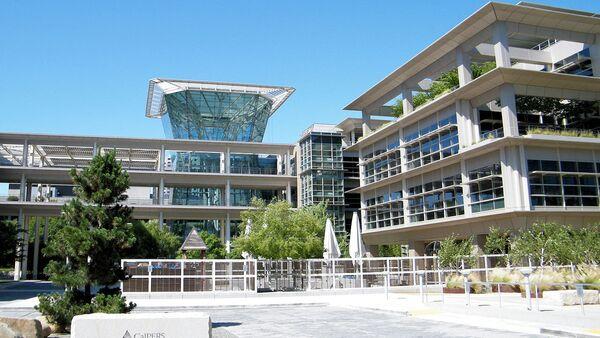 CalPERS headquarters at Lincoln Plaza in Sacramento. - Sputnik International