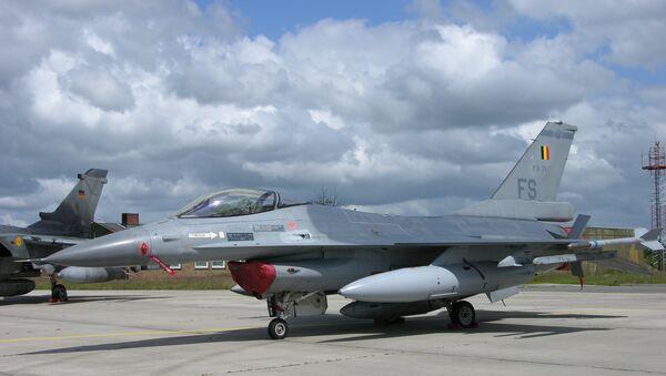 F-16 Belgian Air Force - Sputnik International