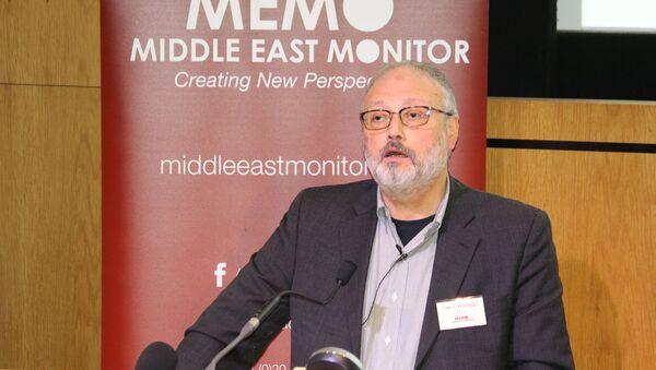 Jamal Khashoggi - Sputnik International